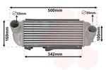 Chłodnica powietrza doładowującego - intercooler VAN WEZEL 82014707 VAN WEZEL 82014707