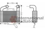 Chłodnica powietrza doładowującego - intercooler VAN WEZEL 27004189 VAN WEZEL 27004189