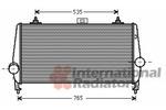 Chłodnica powietrza doładowującego - intercooler VAN WEZEL 40004338 VAN WEZEL 40004338
