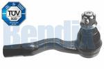 Końcówka drążka kierowniczego poprzecznego BENDIX 040399B BENDIX 040399B