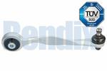 Wahacz zawieszenia koła BENDIX 041680B (góra)