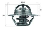 Termostat układu chłodzenia BEHR TX 88 82D BEHR TX8882D