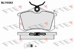 Klocki hamulcowe - komplet FTE BL1193A3