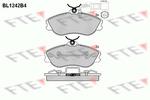 Klocki hamulcowe - komplet FTE  BL1242B4