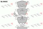 Klocki hamulcowe - komplet FTE BL1864A2 FTE BL1864A2