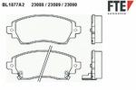 Klocki hamulcowe - komplet FTE BL1877A2 FTE  BL1877A2