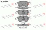 Klocki hamulcowe - komplet FTE BL2030A4 FTE BL2030A4