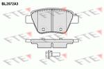 Klocki hamulcowe - komplet FTE BL2072A3 FTE BL2072A3