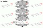 Klocki hamulcowe - komplet FTE BL2090A1