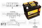 Akumulator QUINTON HAZELL MBT075 QUINTON HAZELL MBT075
