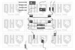 Zestaw dodatków szczęk hamulcowych QUINTON HAZELL BFK365 QUINTON HAZELL BFK365