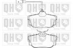 Klocki hamulcowe - komplet QUINTON HAZELL BP1285