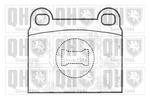 Klocki hamulcowe - komplet QUINTON HAZELL BP136 QUINTON HAZELL BP136