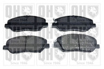 Klocki hamulcowe - komplet QUINTON HAZELL BP1595 QUINTON HAZELL BP1595