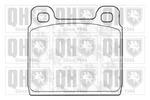 Klocki hamulcowe - komplet QUINTON HAZELL BP291 QUINTON HAZELL BP291