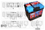 Akumulator QUINTON HAZELL QBT0193 QUINTON HAZELL QBT0193