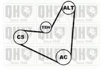 Zestaw paska klinowego wielorowkowego QUINTON HAZELL  QDK11