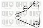 Zestaw paska klinowego wielorowkowego QUINTON HAZELL  QDK14-Foto 3