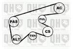 Zestaw paska klinowego wielorowkowego QUINTON HAZELL QDK62 QUINTON HAZELL QDK62