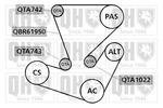 Zestaw paska klinowego wielorowkowego QUINTON HAZELL  QDK66-Foto 2