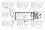 Chłodnica powietrza doładowującego - intercooler QUINTON HAZELL QIC129 QUINTON HAZELL QIC129
