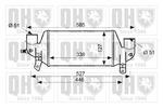 Chłodnica powietrza doładowującego - intercooler QUINTON HAZELL QIC147 QUINTON HAZELL QIC147