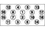 Zestaw śrub głowicy cylindrów GOETZE 22-18005B