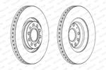 Tarcza hamulcowa FERODO PREMIER Coat+ disc DDF1705C-1-Foto 2