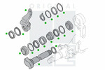 Krzywka hamulca PE AUTOMOTIVE  2313-01404-0247-01