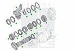Krzywka hamulca PE AUTOMOTIVE  2313-11957-0251-01