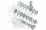 Krzywka hamulca PE AUTOMOTIVE  2313-11926-0257-02