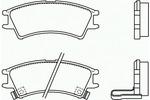 Klocki hamulcowe - komplet BREMBO P30011