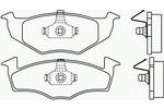 Klocki hamulcowe - komplet BREMBO P 85 030 BREMBO P85030