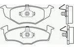 Klocki hamulcowe - komplet BREMBO P 85 031 BREMBO P85031