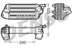 Chłodnica powietrza doładowującego - intercooler DENSO DIT09120 DENSO DIT09120