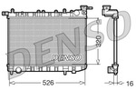 Chłodnica wody DENSO DRM46015 DENSO DRM46015