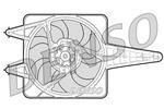 Wentylator chłodnicy silnika DENSO DER13203