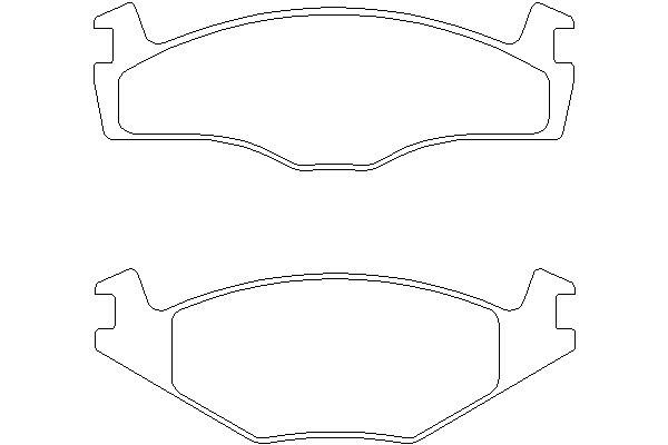 Klocki hamulcowe - komplet MINTEX (MDB1793)