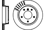 Tarcza hamulcowa MINTEX MDC1053