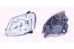 Reflektor KLOKKERHOLM 05510123A1 KLOKKERHOLM 05510123A1