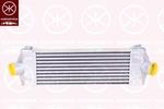 Chłodnica powietrza doładowującego - intercooler KLOKKERHOLM 2510304406 KLOKKERHOLM 2510304406
