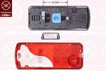 Lampa tylna zespolona KLOKKERHOLM  35470705 (Z lewej)