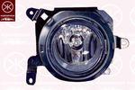 Reflektor przeciwmgłowy - halogen KLOKKERHOLM  37830281 (Z lewej)