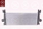 Chłodnica powietrza doładowującego - intercooler KLOKKERHOLM 5053304549 KLOKKERHOLM 5053304549