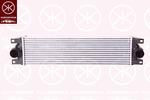 Chłodnica powietrza doładowującego - intercooler KLOKKERHOLM 5088304089 KLOKKERHOLM 5088304089