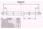 Sprężyna gazowa tylnej szyby KLOKKERHOLM 60427105 KLOKKERHOLM  60427105