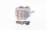 Chłodnica oleju silnikowego AKS DASIS 046015N AKS DASIS 046015N
