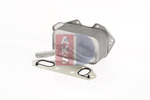 Chłodnica oleju silnikowego AKS DASIS 046019N AKS DASIS 046019N