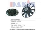 Wentylator chłodnicy silnika AKS DASIS 048550N AKS DASIS 048550N