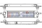 Chłodnica powietrza doładowującego - intercooler AKS DASIS 077012N AKS DASIS 077012N